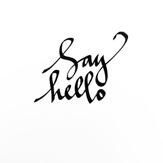 sea-calligraphy-say-hello